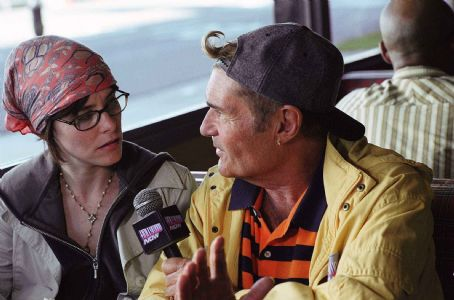 Parker Posey as Callie Webb and Fred Willard as Chuck in director Christopher Guest's For Your Consideration.  Photo credit: Suzanne Tenner © 2006 Shangri-La Entertainment, LLC.