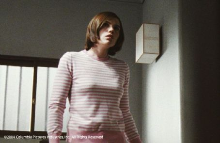 Clea DuVall  plays Jennifer Williams in Takashi Shimizu's The Grudge, also starring Jason Behr and Sarah Michelle Gellar - 2004