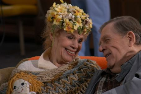 Pat Hingle Anna Rhoades  (Betsy Palmer) and Mo Kegley () in Waltzing Anna - 2006