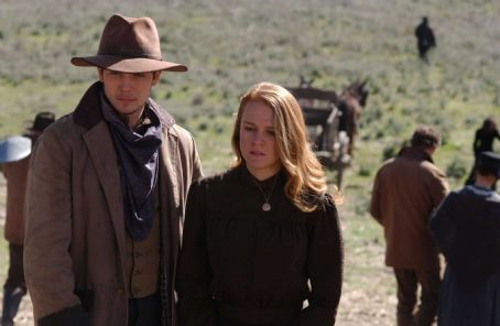 James Tupper as Henry with Erin Cottrell star as Missie LaHaye in FoxFaith 'Love's Abiding Joy' - 2006