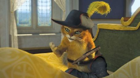 Puss in Boots  (voiced by Antonio Banderas) in DreamWorks Animation's Shrek the Third - 2007