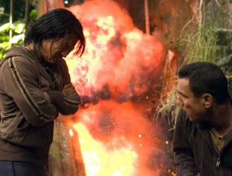 Vinnie Jones Masa Yamaguchi as Saiga and  star as Ewan McStarley in The Condemned - 2007