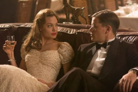 Angelina Jolie and Matt Damon - Clover Wilson (Angelina Jolie) with Edward Wilson (Matt Damon) in drama romance movie 'The Good Shepherd' 2006