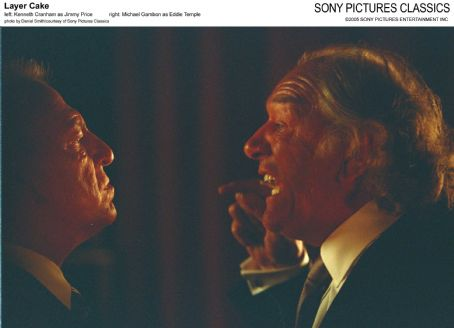 Kenneth Cranham Left:  as Jimmy Price; Right: Michael Gambon as Eddie Temple; Photo by Daniel Smith/courtesy  of Sony Pictures Classics.