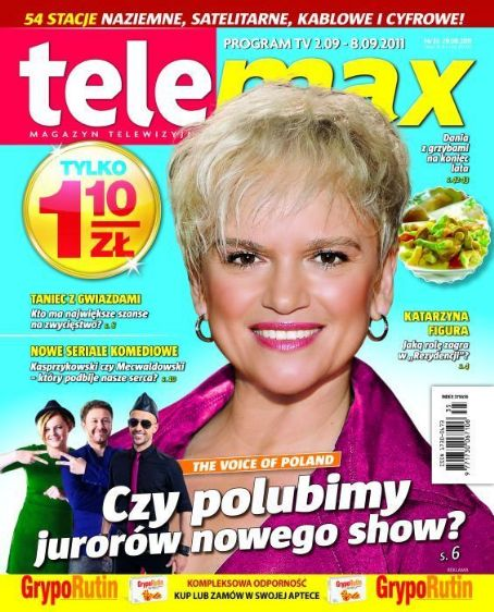 Katarzyna Figura - Tele Max Magazine Cover [Poland] (2 September 2011)
