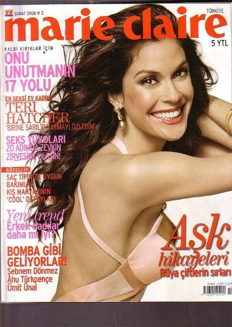 Teri Hatcher - Marie Claire Magazine Cover [Turkey] (February 2006)