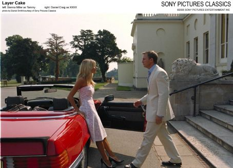 XXXX Left: Sienna Miller as Tammy; Right: Daniel Craig as ; Photo by Daniel Smith/courtesy  of Sony Pictures Classics.