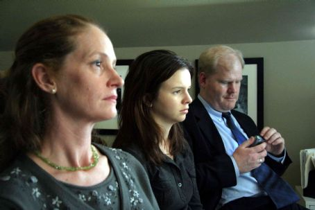 Jim Gaffigan Melissa Leo, Amber Tamblyn, . Photo by Carol Cohen