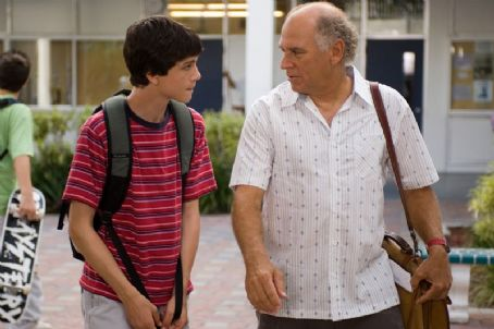 Jimmy Buffett Logan Lerman as Roy Eberhardt and  as Mr. Ryan; Marine Science Teacher in Wil Shriner comedy movie, Hoot - 2006