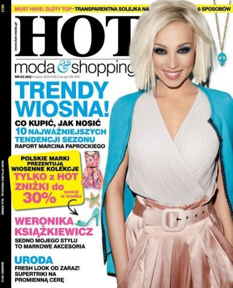 Weronika Ksiazkiewicz - Hot Moda & Shopping Magazine Cover [Poland] (March 2012)