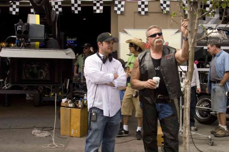 Paul Teutul Sr. (L-R) Walt Becker and  in Wild Hogs. Photo Credit: Lorey Sebastian. © Touchstone Pictures. All Rights Reserved