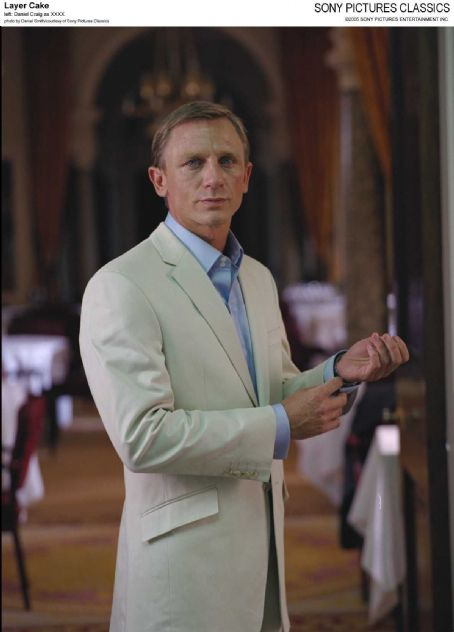 XXXX Left: Daniel Craig as ; Photo by Daniel Smith/courtesy  of Sony Pictures Classics.