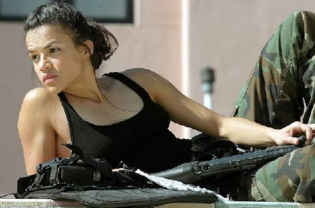 S.W.A.T. Michelle Rodriguez plays  team member Chris Sanchez.