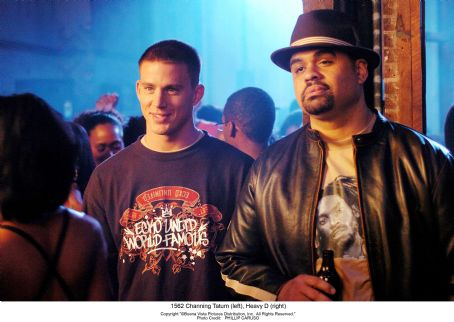 Heavy D Channing Tatum (left),  (right) ©Buena Vista Pictures Distribution. All Rights Reserved. Photo Credit: PHILLIP CARUSO