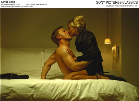 Daniel Craig and Sienna Miller - Left: Daniel Craig as XXXX; Right: Sienna Miller as Tammy; Photo by Daniel Smith/courtesy  of Sony Pictures Classics.
