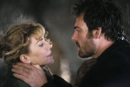 Natasha Richardson and Marton Csokas - Natasha Richardson & Marton Csokas; Photo By: Colm Hogan