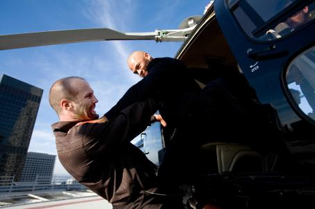 Jason Statham and Jose Pablo Cantillo in Brian Taylor and Mark Neveldine action thrillers', Crank - 2006
