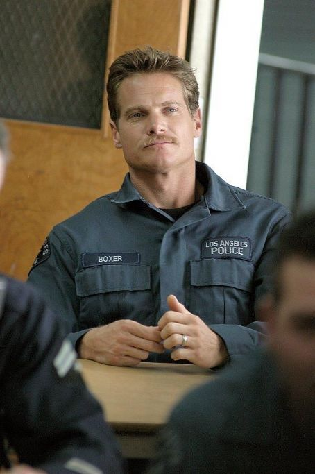 S.W.A.T. Brian Van Holt portrays elite  team member Michael Boxer.