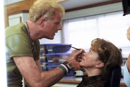 Ed Begley Jr.  as Sandy Lane and Catherine O'Hara as Marilyn Hack in director Christopher Guest's For Your Consideration. Photo credit: Suzanne Tenner © 2006 Shangri-La Entertainment, LLC.