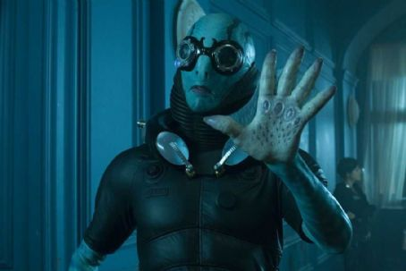 Doug Jones  star as Abe Sapien in Guillermo del Toro sci-fi 'Hellboy 2: The Golden Army.'