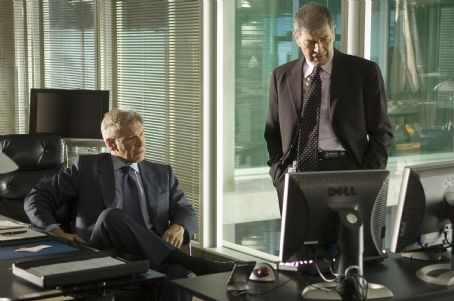 "Robert Forster Harrison Ford as Jack Stanfield and  as Harry Romano in Warner Bros. Pictures' and Village Roadshow Pictures' action thriller ""Firewall."" The film also stars Paul Bettany. Photo by Diyah Pera"