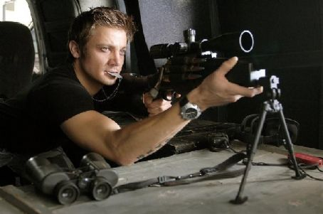 S.W.A.T. Jeremy Renner plays Brian Gamble, a former  member turned mercenary.
