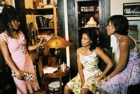 Wendy Raquel Robinson Taraji P. Henson (left), Sanaa Lathan (center) and  (right) star in Sanaa Hamri's Something New, a Focus Features release. Photo by Sidney Baldwin.