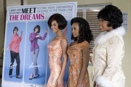 Anika Noni Rose Beyonce Knowles,  and Jennifer Hudson in DreamWorks Pictures' Dreamgirls - 2006
