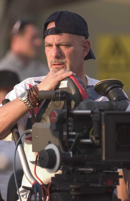 Rob Cohen  directs Columbia Pictures' epic action adventure Stealth. Photo credit: Jasin Boland