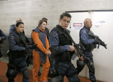 S.W.A.T. Michelle Rodriguez, Olivier Martinez, Colin Farrell and Samuel L. Jackson.
