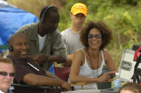 John Singleton Producer , Executive Producer Dwight Williams, Producer Stephanie Allain; Photo By: Alan Spearman.