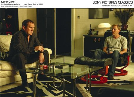 Colm Meaney Left:  as Gene; Right: Daniel Craig as XXXX; Photo by Daniel Smith/courtesy  of Sony Pictures Classics.
