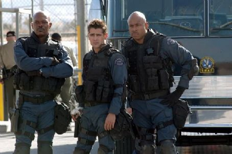 S.W.A.T. Samuel L. Jackson, Colin Farrell and James Todd Smith (aka LL Cool J) portray elite  team members on a high-risk assignment.
