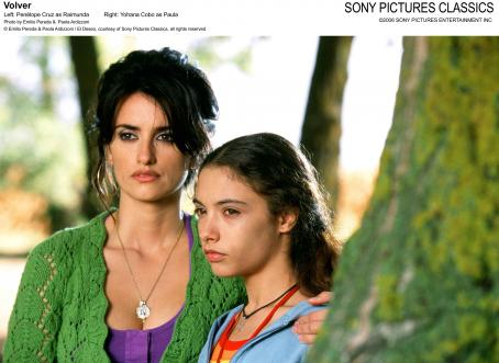 Yohana Cobo Left: Penelope Cruz as Raimunda; Right:  as Paula. Photo by Emilio Pereda and Paola Ardizzoni © Emilio Pereda and Paola Ardizzoni / El Deseo, courtesy of Sony Pictures Classics, all rights reserved