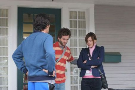 Clea DuVall Glenn Howerton as Matthew Bergman and  as Katrina in Two Weeks - 2007