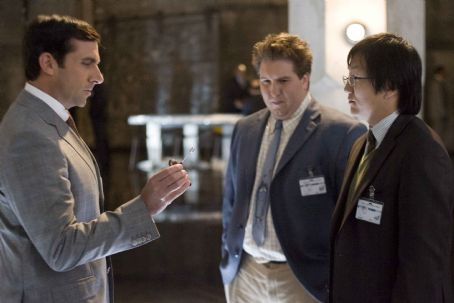 "Masi Oka STEVE CARELL as Maxwell Smart, NATE TORRENCE as Lloyd and MASI OKA as Bruce in Warner Bros. Pictures' and Village Roadshow Pictures' action comedy ""Get Smart,"" distributed by Warner Bros. Pictures. The film also stars Anne Hathaway"
