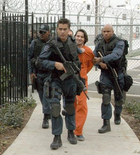S.W.A.T. Samuel L. Jackson, Colin Farrell, Olivier Martinez and James Todd Smith (aka LL Cool J) portray elite  team members on a high-risk assignment.