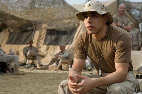 "Victor Rasuk  stars as Rico Rodriguez in ""Stop-Loss."" Photo Credit: François Duhamel. © 2008 by PARAMOUNT PICTURES. All Rights Reserved."