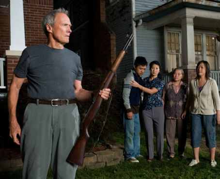 Ahney Her (L-r) Walt Kowalski (CLINT EASTWOOD), Thao (BEE VANG), Vu (BROOKE CHIA THAO), Grandma (CHEE THAO) and Sue (AHNEY HER) in Warner Bros. Pictures' and Village Roadshow Pictures' drama 'Gran Torino,' distributed by Warner Bros. Pictures. Photo