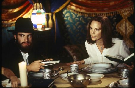 Lesley Ann Warren Max Greenfield as Ethan Stuckman play with  as Peggy Stuckman in comedy drama When Do We Eat - 2006