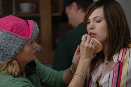 Clea DuVall  behind the scene of Two Weeks - 2007