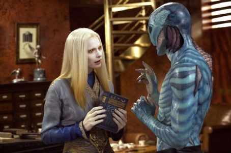 Doug Jones Anna Walton as Princess Nuala and  as Abe Sapien in Hellboy 2: The Golden Army.