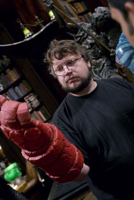 Guillermo del Toro Director . Behind the scene of Hellboy 2: The Golden Army.