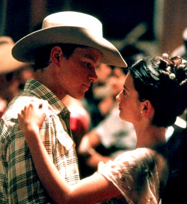 All the Pretty Horses Matt Damon and Penelope Cruz in Miramax's All The Pretty Horses - 2000