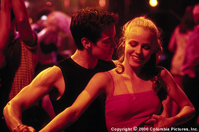 Amanda Schull The relationship between young ballet students Jody () and Charlie (Sascha Radetsky) heats up on the dance floor of a New York salsa club in the Columbia Pictures presentation, Center Stage - 2000