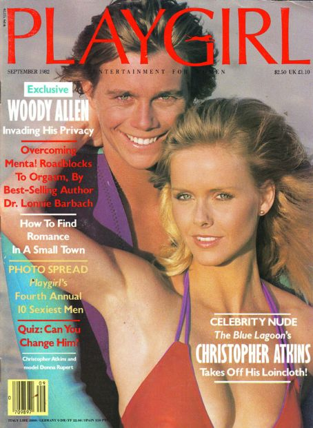 Christopher Atkins - Playboy Cover