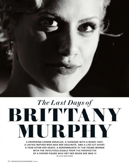 Brittany Murphy - The Hollywood Reporter Magazine Pictorial [United States] (19 January 2011)
