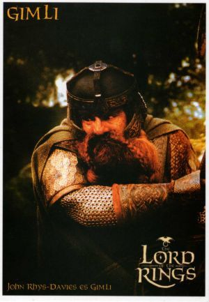 John Rhys-Davies The Lord of the Rings: The Fellowship of the Ring