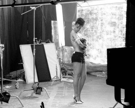 "Behind the Scenes with Rihanna for ""Where Have You Been"""