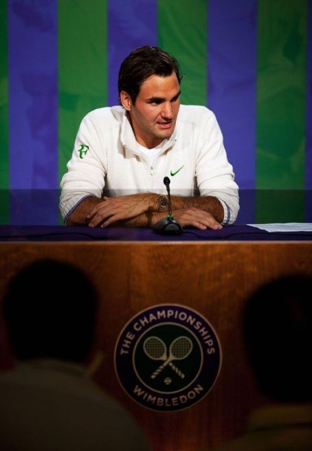 Roger Federer - Gentlemen's Singles final match of the Wimbledon Lawn Tennis Championships (July 8)